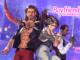 Titelbild zu Boyfriend Dungeon mit Logo rechts oben sowie drei Charakteren darunter.